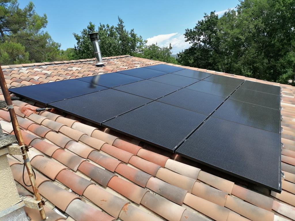 Installation solaire hybride 6kWc en autoconsommation-Vaucluse (84)