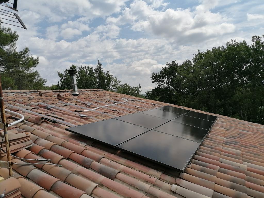 Installation panneau solaire hybride 6kWc en autoconsommation