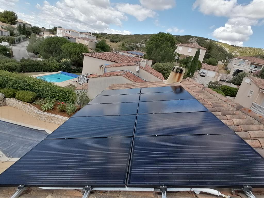 Installation solaire hybride 3kWc en autoconsommation-Bouches du Rhône (13)