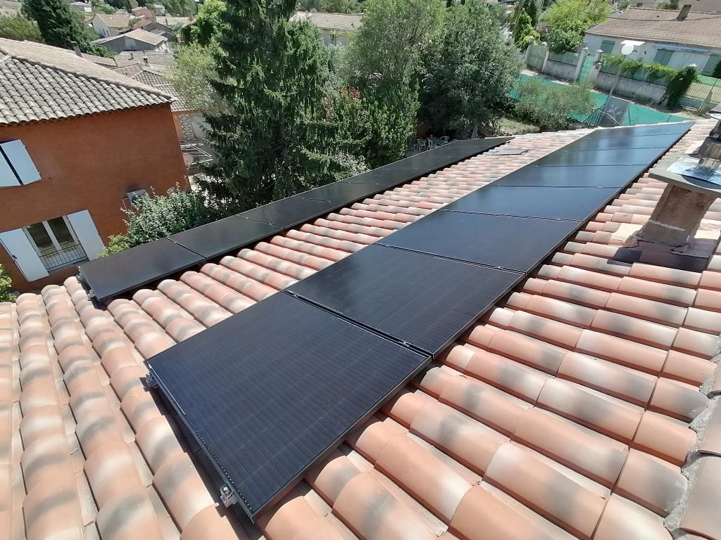 Installation photovoltaïque sur-imposée 6000Wc pour autoconsommation