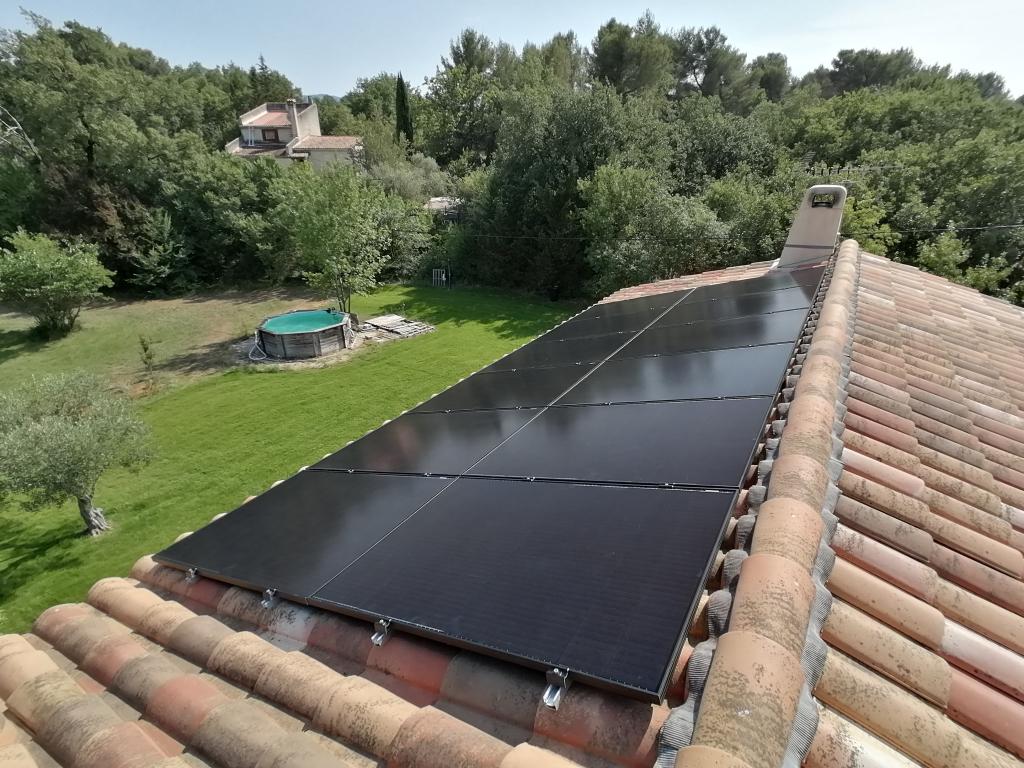 Installation photovoltaïque sur-imposée 4500Wc pour autoconsommation-Bouches du Rhône (13)