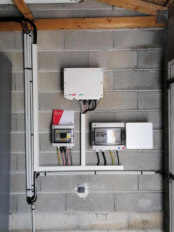 Installation photovoltaïque sur-imposée 4500Wc pour autoconsommation