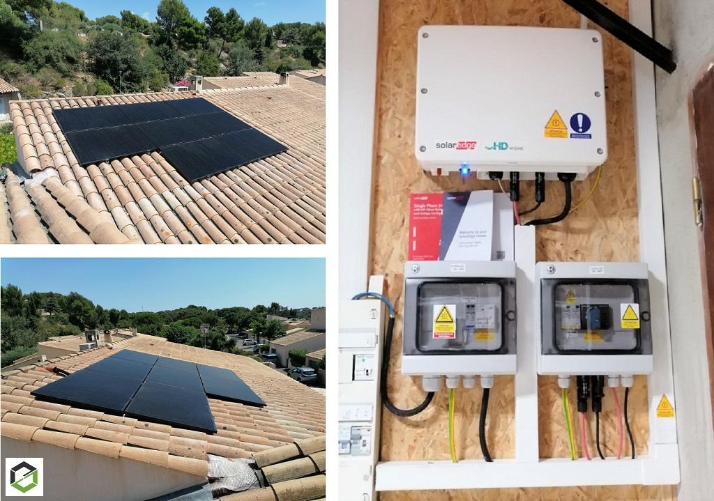 Installation Système solaire photovoltaïque 3 kWc en revente totale-Bouches du Rhône (13)