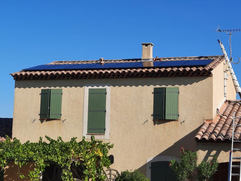 Réalisation d'une installation photovoltaïque en auto-consommation de 3 Kwc - RGE QualiPV
