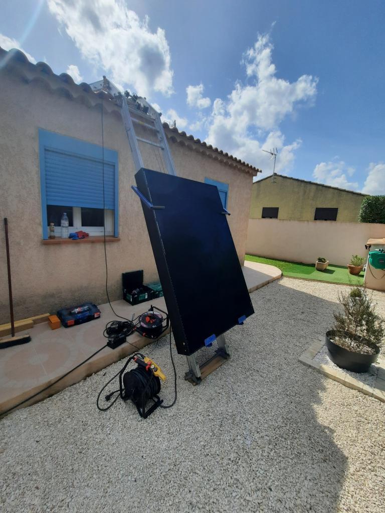 Installation RGE QualiPV Photovoltaïque puissance 3 kWc autoconsommation et revente de surplus-Bouches du Rhône (13)