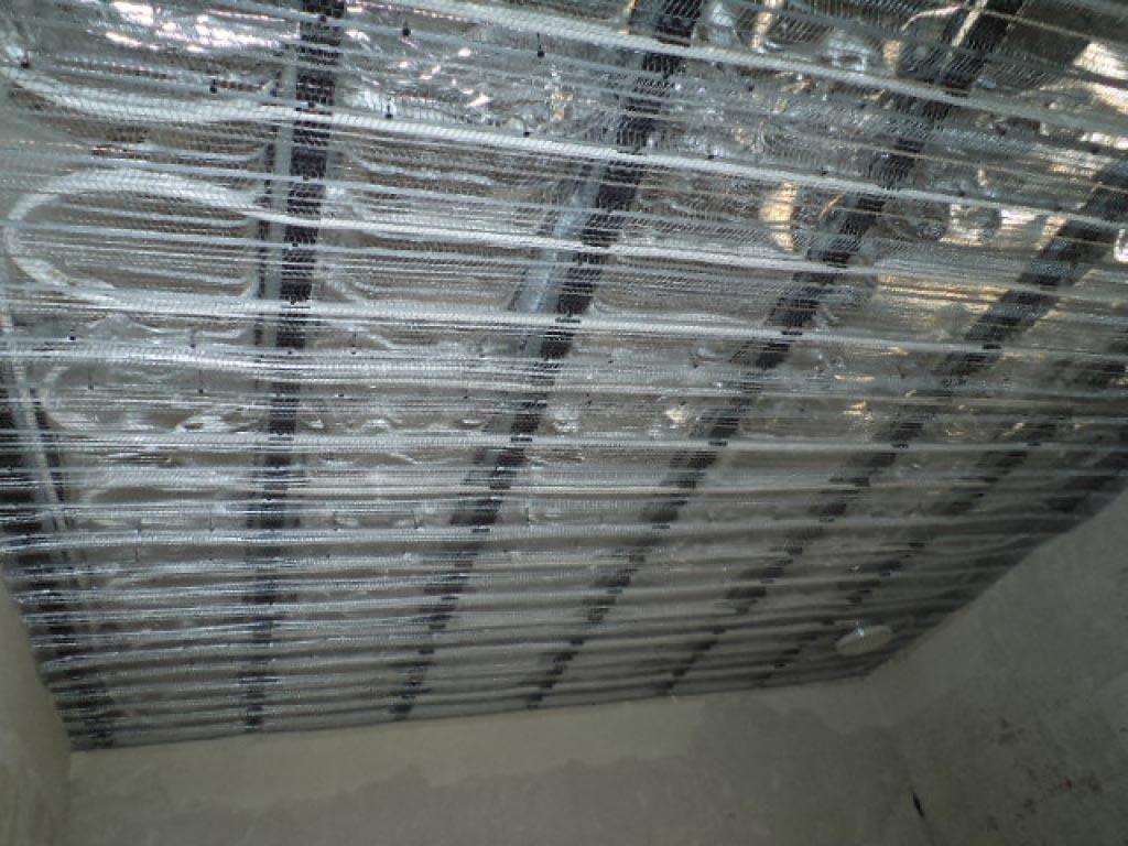 Installation d'un plafond rayonnant chauffant basse température de la marque INNOVERT-Bouches du Rhône (13)