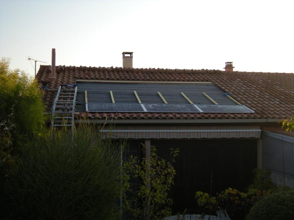 Solaire photovoltaïque 2160 Wc SOLRIF aux Pennes MIrabeau 13 Bouches du Rhône-