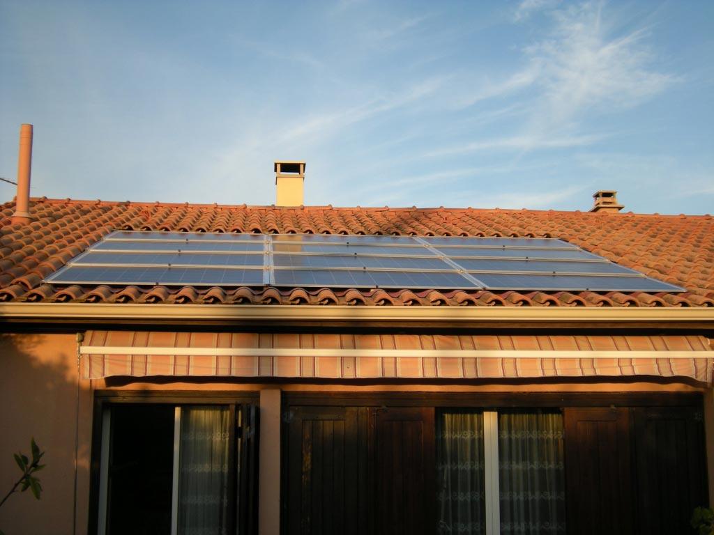 Solaire photovoltaïque 2160 Wc SOLRIF aux Pennes MIrabeau 13 Bouches du Rhône