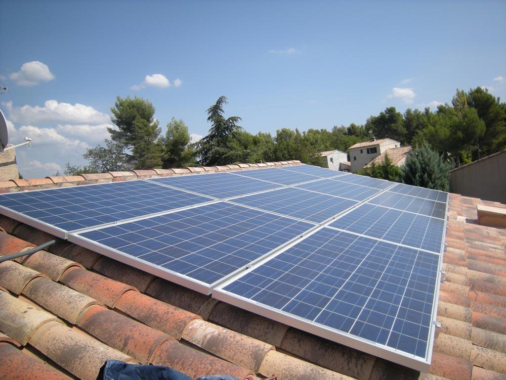 solaire photovoltaïque 3000 Wc à Gréasque 13 Bouches du Rhône-