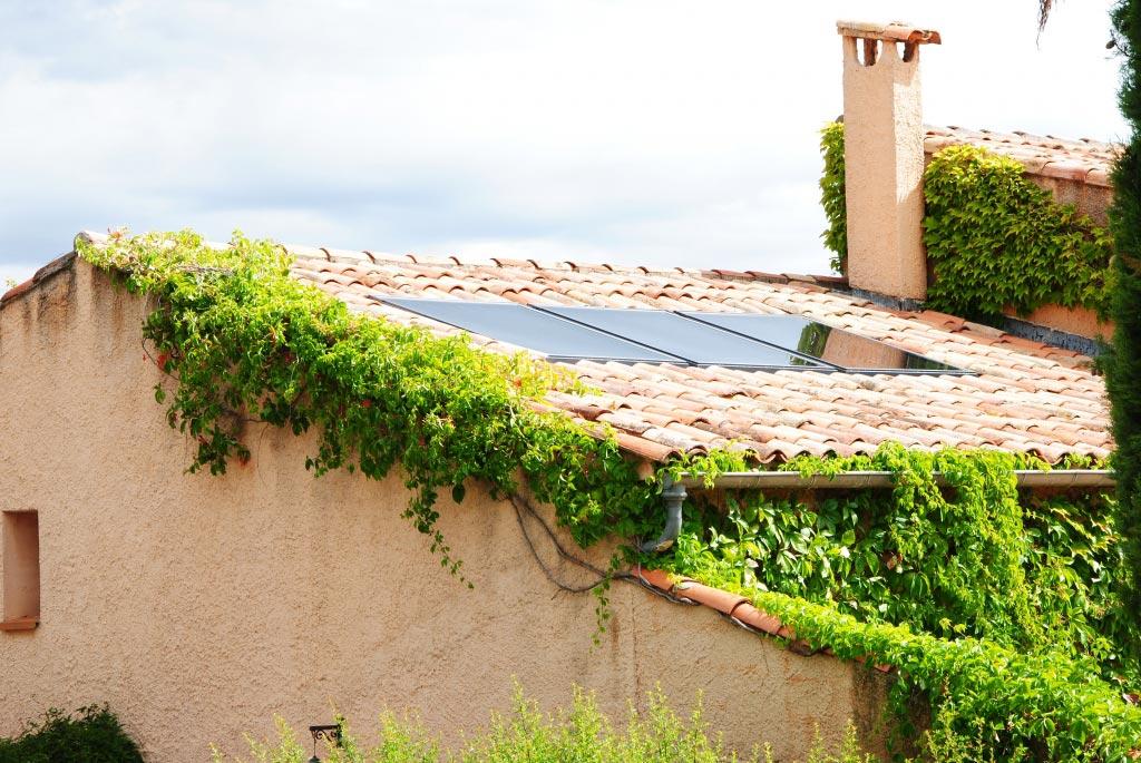 Installation d'une chaudière à granulés (pellets) de la marque OKOFEN et d'un système solaire combiné SONNENKRAFT-Bouches du Rhône (13)
