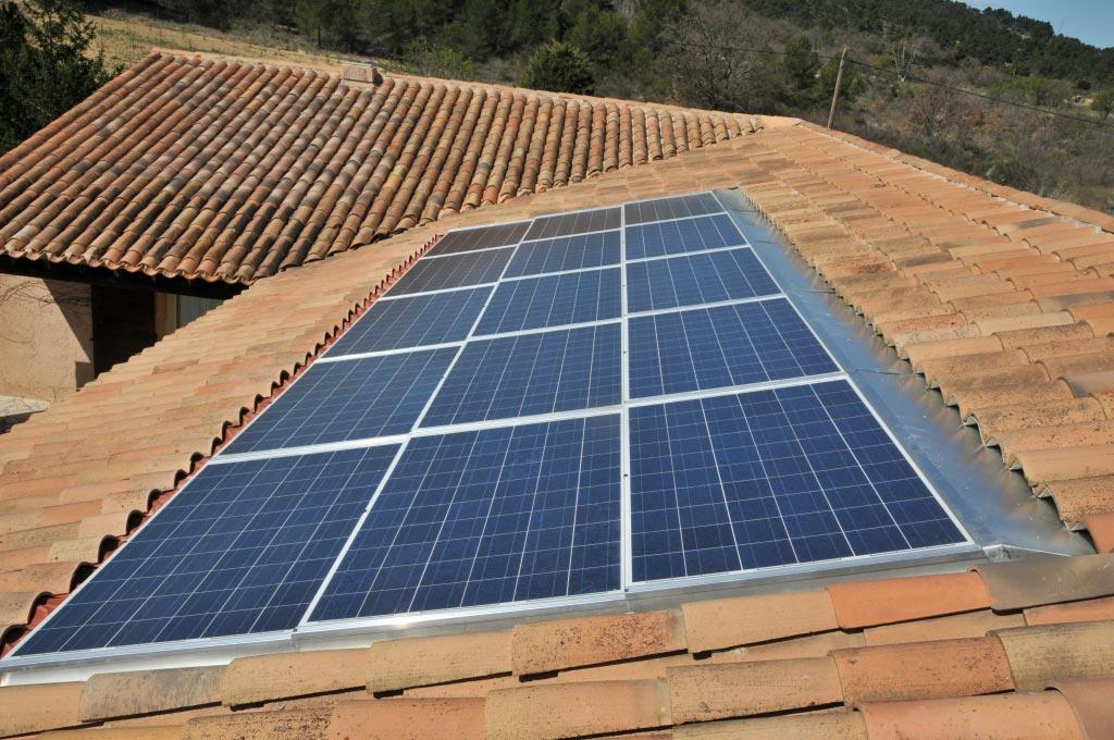 solaire photovoltaïque SOLRIF 3000 Wc au Puy Sainte Réparade 13 Bouches du Rhône-Bouches du Rhône (13)