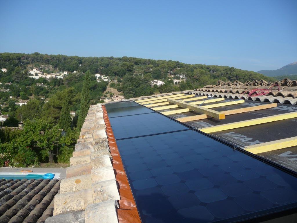 Installateur solaire photovoltaïque 2640 Wc à La Colle sur Loup 06 Alpes Maritimes-Alpes Maritimes (06)