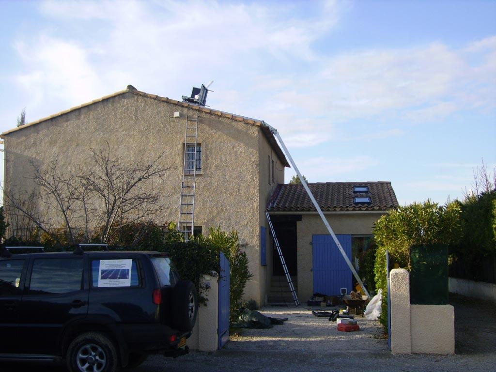 Solaire photovoltaïque 2600 Wc SOLRIF au Puy Sainte Réparade 13 Bouches du Rhône-