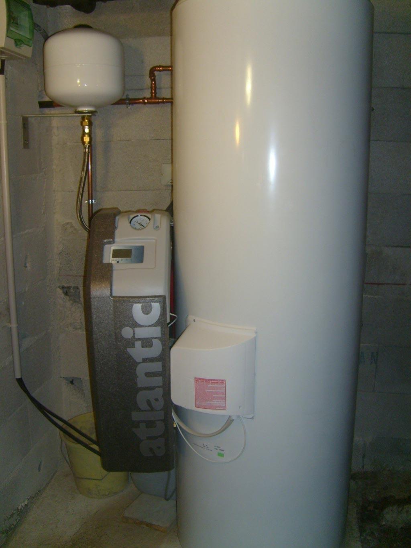 Installation d'un chauffe eau solaire individuel ATLANTIC-Bouches du Rhône (13)