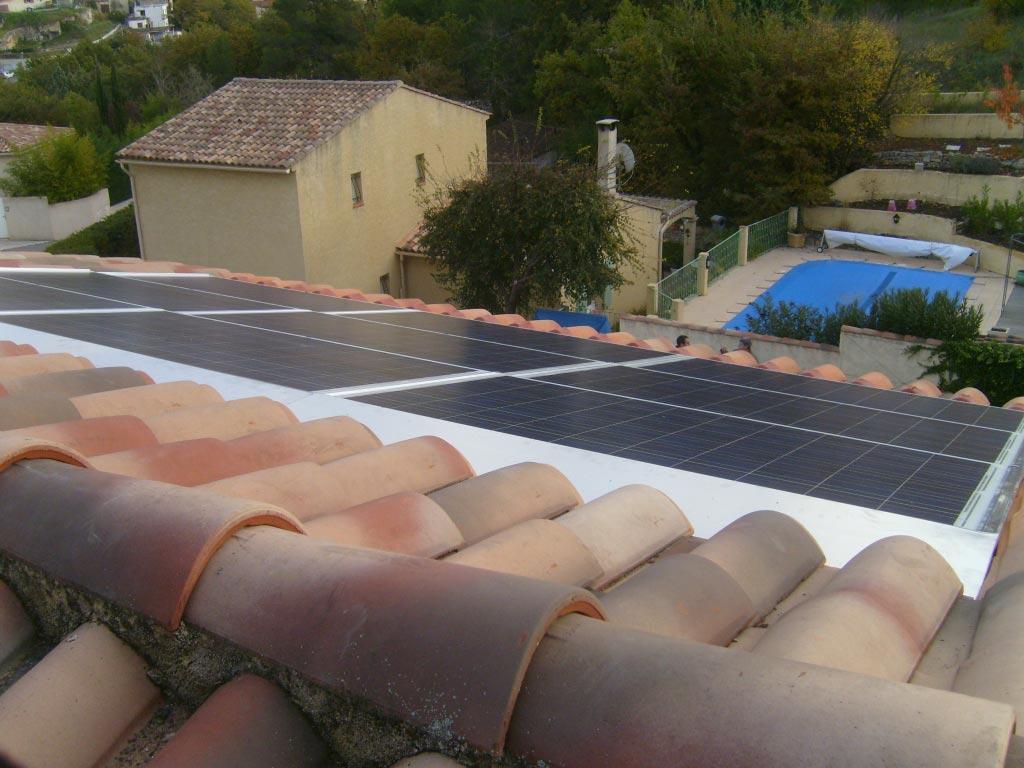 solaire photovoltaïque SOLRIF 1980 Wc à Fuveau 13 Bouches du Rhône-Bouches du Rhône (13)