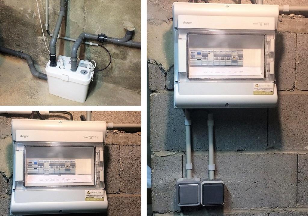 Mise en sécurité électrique d'une installation à BOISSY FRESNOY