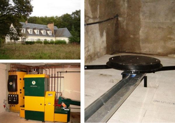 Chaudière bois plaquettes KWB à Mazière en Touraine - 37 Indre et Loire