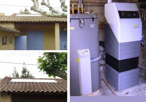 Chauffagiste solariste RGE qualisol  qualifioul - Installation CESI et chaudière à condensation Fioul Daikin Rotex Montfavet - 84 Vaucluse et 30 Gard