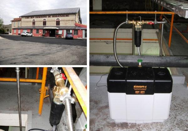 Plombier chauffagiste - Vente installation d'adoucisseur d'eau Judo France à Roquemaure - 30 Gard et 84 Vaucluse