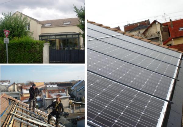 Solaire photovoltaique à Groslay - 37 Indre et Loire-Val d'Oise (95)