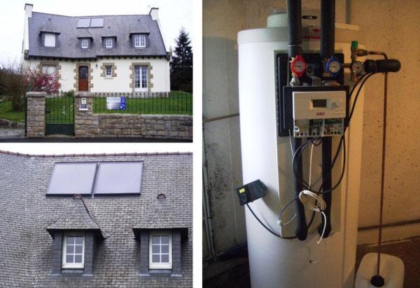 Chauffe-eau solaire Vélux à Saint-Malo - 35 Ille & Vilaine